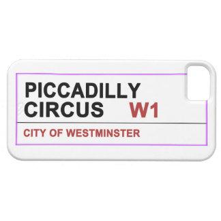 Circo Londres de Piccadilly iPhone 5 Case-Mate Cárcasa