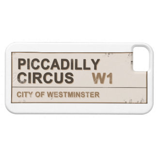 Circo Londres - vintage de Piccadilly iPhone 5 Case-Mate Protectores