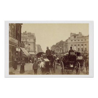 Circo regente, Londres, c.1880 (foto de la sepia) Póster