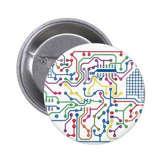 Circuit 2 Inch Round Button