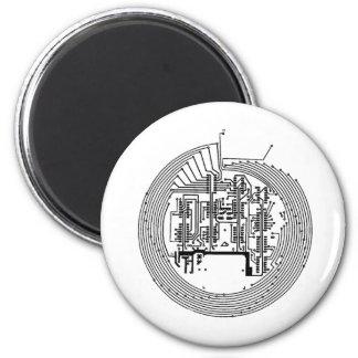 Circuit 2 Inch Round Magnet