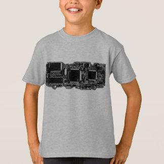 Circuit B&W 2  t-shirt kids grey