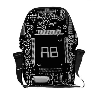 Circuit Black and White 2 monogram bag medium
