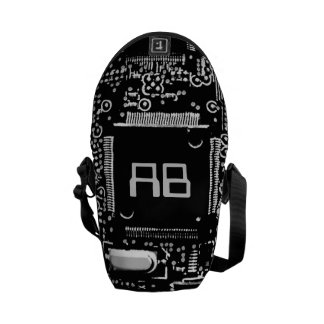 Circuit Black and White 2 monogram bag mini