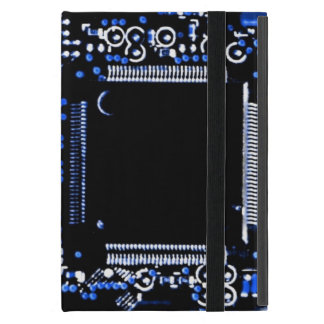 Circuit Blue 2 Powis iCase iPad Mini case