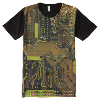 Circuit Board 1-2 Options All-Over Print T-shirt