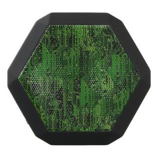 Circuit board background black bluetooth speaker