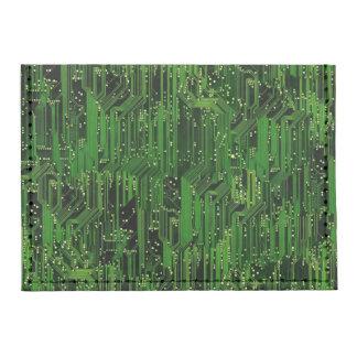 Circuit board background tyvek® card wallet