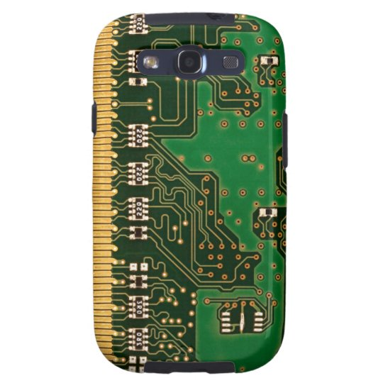 Circuit board background Galaxy S case