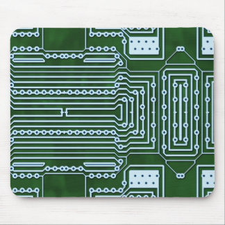 Circuit Board Background Mouse Pad