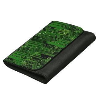 Circuit board background wallet