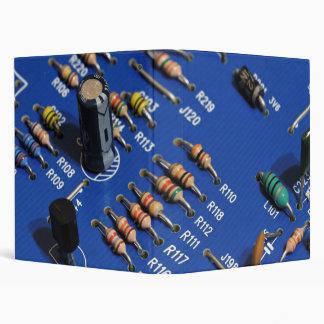Circuit board 3 ring binders