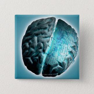 Circuit Board Brain 2 Button