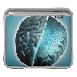 Circuit Board Brain 2 iPad Sleeves