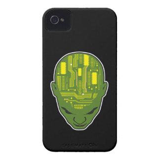 circuit board brain geek head iPhone 4 Case-Mate cases