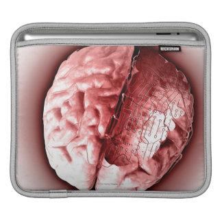 Circuit Board Brain iPad Sleeve