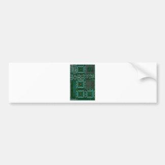 Circuit Board Bumper Sticker