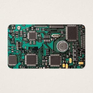 Circuit board business card