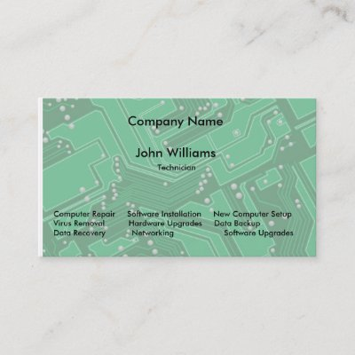 It manager programer engineer computer wide business card zazzle reheart Choice Image