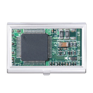Circuit board business card holders cases zazzle circuit board business card holder colourmoves