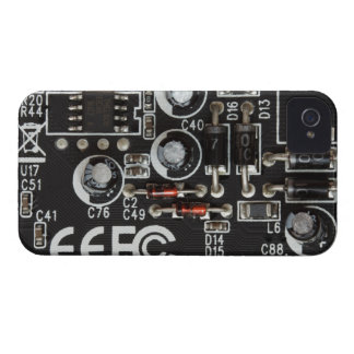 Circuit Board iPhone 4 Cover