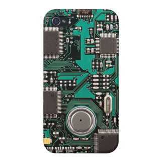 Circuit board case for iPhone 4
