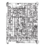 Circuit Board Case For The iPad