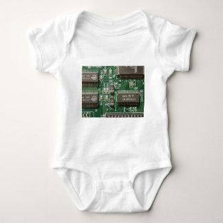 Circuit Board Design Baby Bodysuit