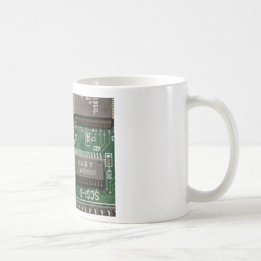 Circuit Board Design Coffee Mugs