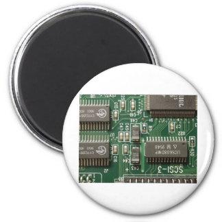 Circuit Board Design Fridge Magnets