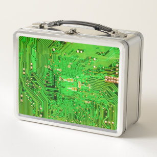 computer geek lunch boxes zazzle rh zazzle com Circuit Board Chips Circuit Board Chips