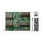 Circuit Board Design Postage Stamps