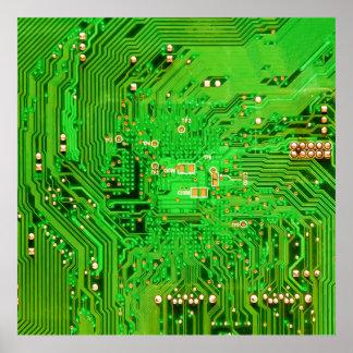 Circuit Board Design Poster