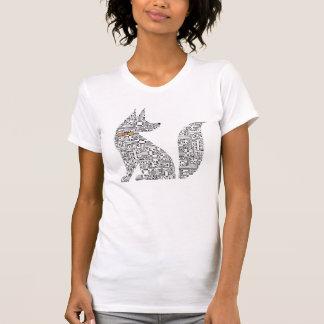 Circuit Board Dog illustration Tee Shirt