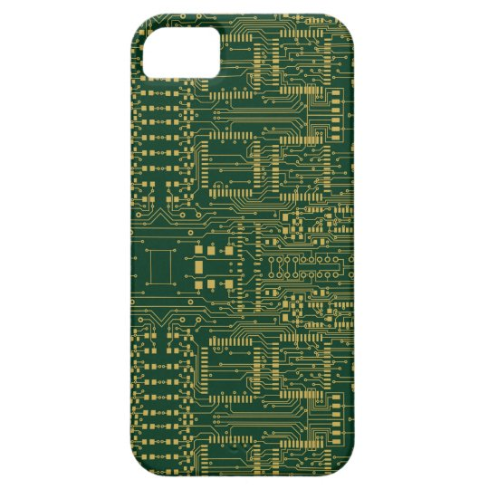 Circuit Board Exoskeleton iPhone 5 Case
