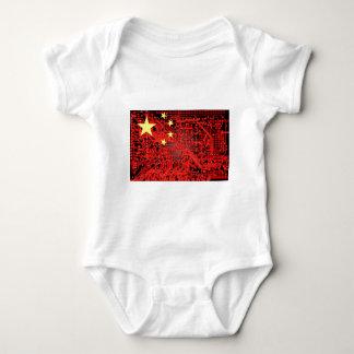 circuit board Flag (China) T Shirt