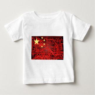 circuit board Flag (China) Tee Shirt