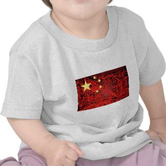 circuit board Flag China Shirt