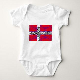 circuit board Flag (Denmark) Baby Bodysuit