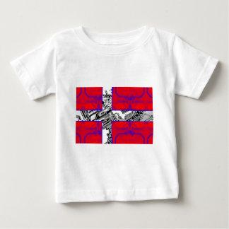 circuit board Flag (Denmark) Baby T-Shirt