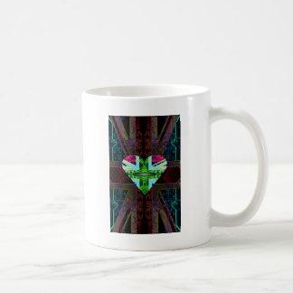 circuit board Flag, Union Jack. Coffee Mug