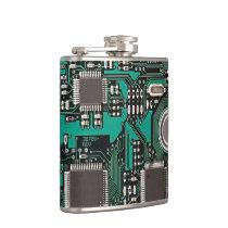 Circuit board flask