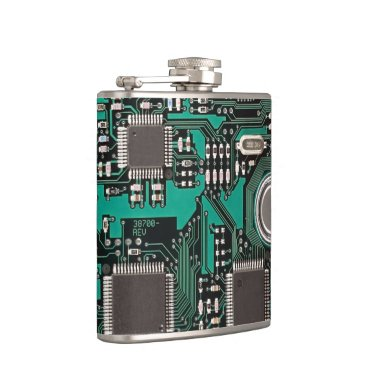 Circuit board flask