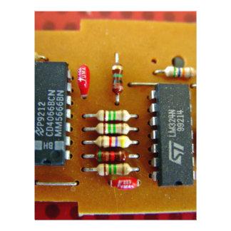 Circuit board flyer design