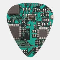 Circuit board guitar pick