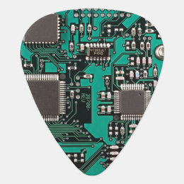 Circuit board guitar pick