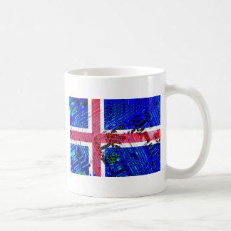 circuit board iceland (Flag) Coffee Mug