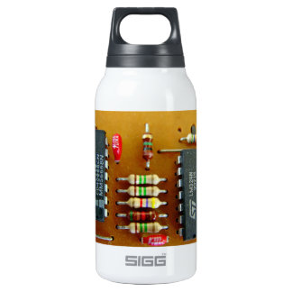 Circuit board insulated water bottle