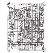 Circuit Board iPad Cases