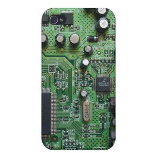 Circuit Board iPhone 4 Case
